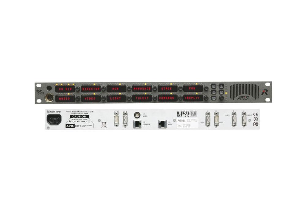 Riedel RCP-1012E Remote Control Panel