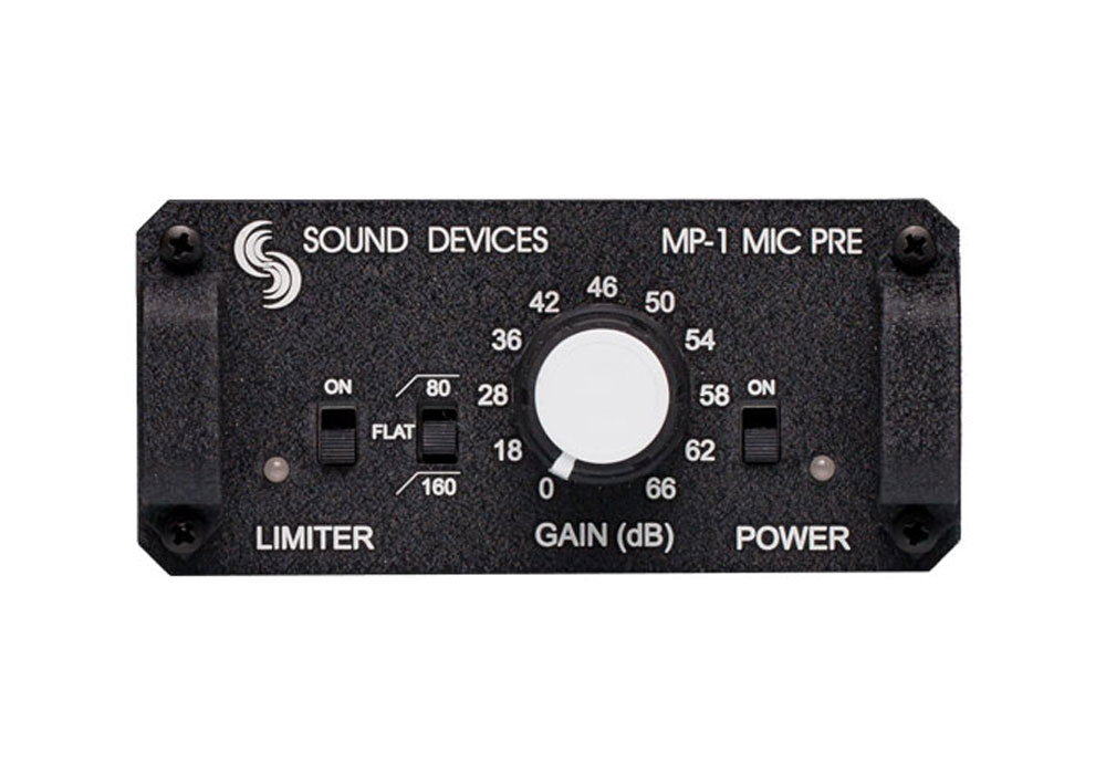 Sound Devices MP-1 Mic Preamplifier