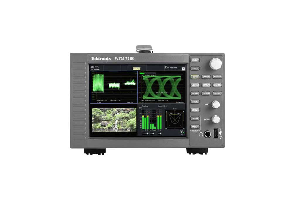 Tektronix WFM7100 High Definition Waveform Monitor