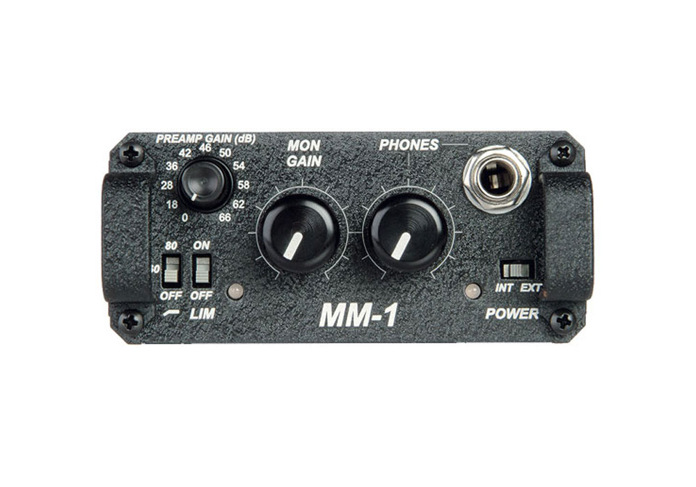 Sound Devices MM-1 Single Channel Microphone Preamplifier