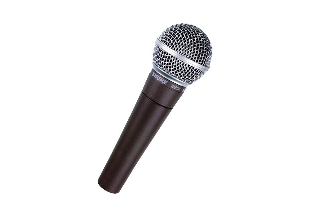 Shure SM58 Hand Microphone