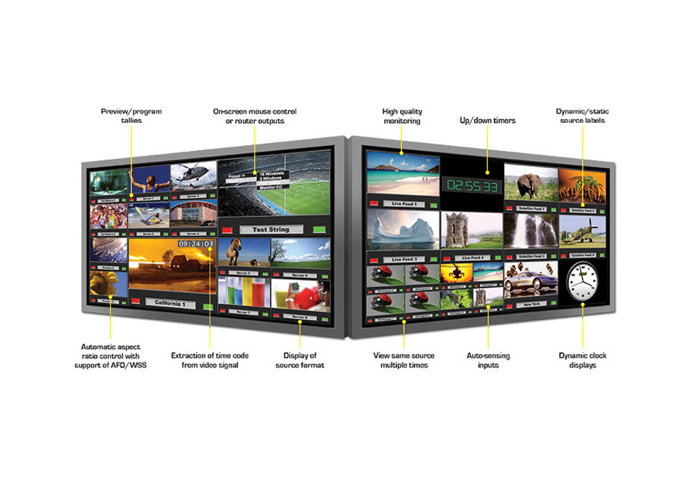 Evertz 7867VIPA8-DUO-HS 8 Input Monitoring & Display Card