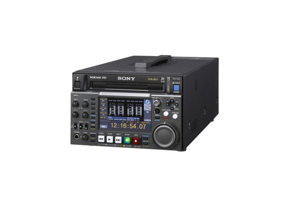Sony PDW-F1600 XDCAM HD422 Disc Recorder