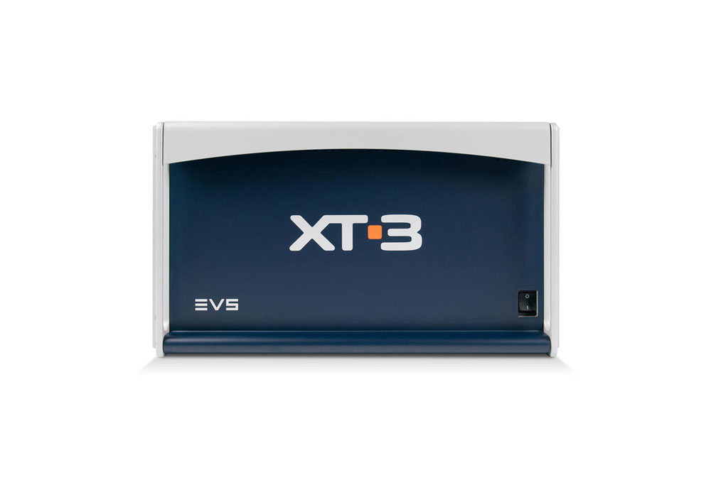 EVS XT[3] 8 Channel HD/SD Hard Disk Recorder (GIGE + 12 x 900 Gb)