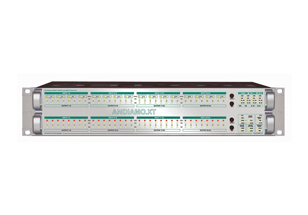 Direct Out Andiamo2 XT SRC Analogue/AES - MADI Interface