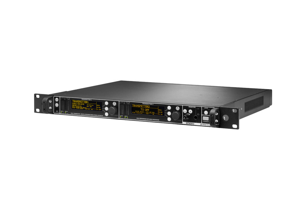 Wisycom MTK952N Dual IEM Transmitter