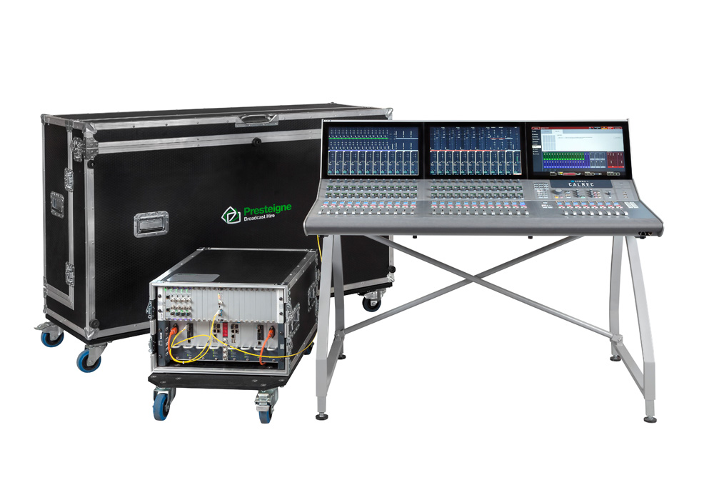 Calrec Summa Audio Mixing Desk (24+8 Fader) With Compact Core