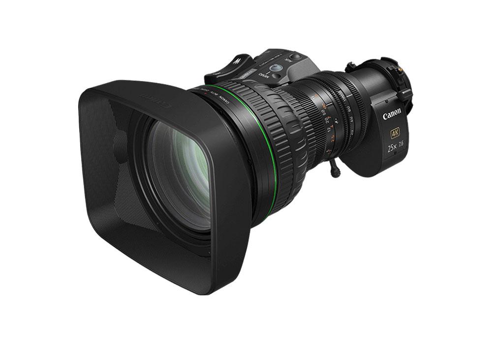Canon CJ25ex7.6B 4K UHD Lens