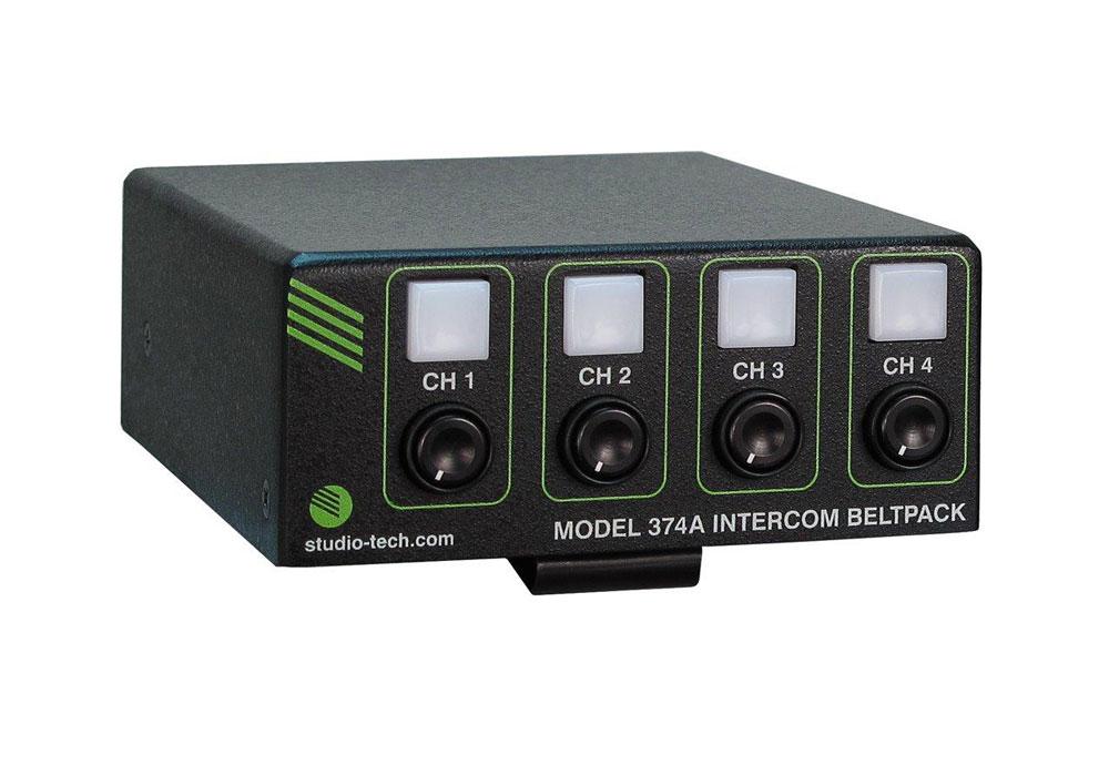Studio Technologies M374A 4 Channel Dante Beltpack